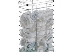 Cesto Organizador de Sacolas Plásticas para Porta
