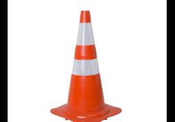 Cone de sinalização refletivo NORMA 75cm