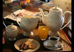 Conjunto Café 3 peças Soleil White Oxford