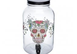 Dispenser Vidro Simple Glass Skull