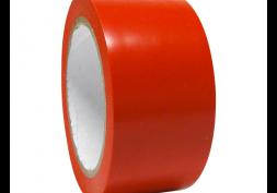 Fita adesiva demarcação de solo 5cmx30m Vermelha