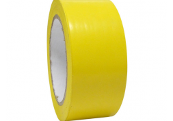 Fita adesiva demarcação solo 4,5cmx30m Amarela