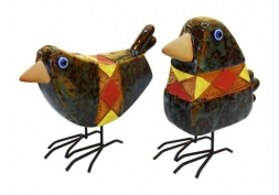 Jogo de Pássaros Geométrico