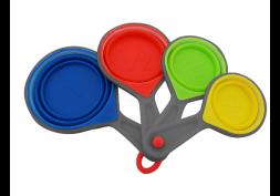 Jogo Medidores 4 Peças Dobrável