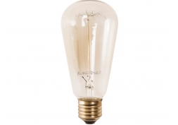 Lâmpada Decorativa Filamento ST64 40W E27 220V