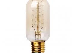 Lâmpada Decorativa Filamento T45 40W E27 220V