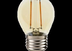 Lâmpada LED Filamento Retro Bolinha 2W G45 E27