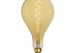 Lâmpada LED Filamento Gigant Gota Âmbar