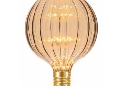 Lâmpada LED Fireworks Vintage G125 Âmbar