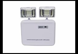Luminária de Emergência c/ 2 Faróis LED