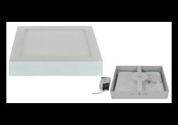 Painel LED Quadrado Sobrepor 3000K