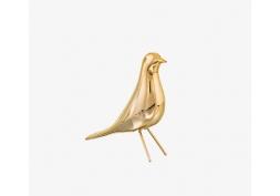 Pássaro Dourado em Cerâmica