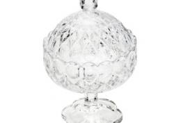 Potiche Decorativo de Cristal