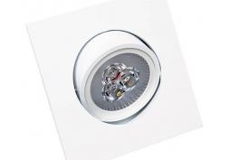 Spot Embutido Super LED 4000K Quadrado