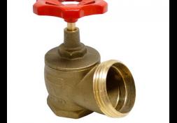 Válvula angular hidrantre (registro globo) 2.1/2